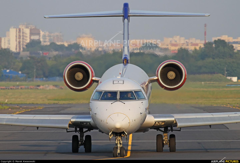 SAS - Scandinavian Airlines OY-KFG aircraft at Warsaw - Frederic Chopin