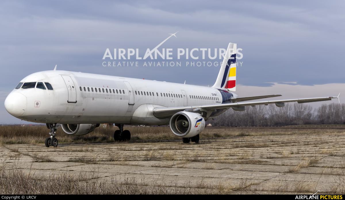 Olympus Airways SX-BHT aircraft at Craiova
