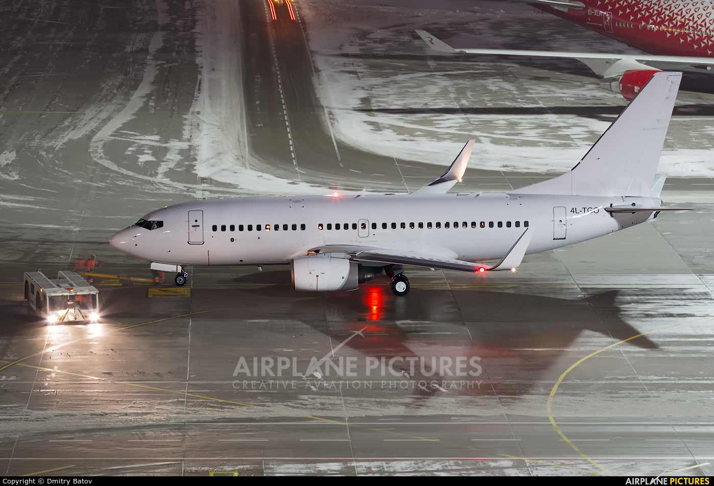 Airzena - Georgian Airlines 4L-TGO aircraft at Moscow - Vnukovo