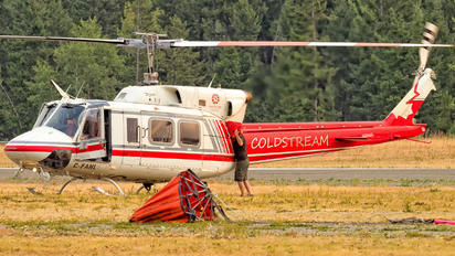 C-FAHL - Coldstream Helicopters Bell 212