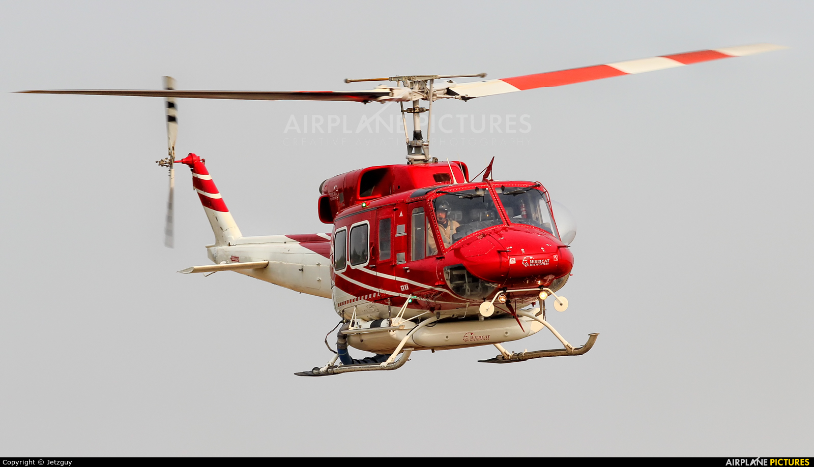 Wildcat Helicopters C-FCAN aircraft at 108 Mile Ranch, BC