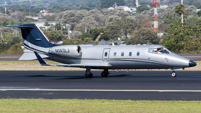 N143LJ - Private Learjet 55