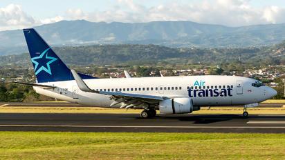 C-FTQK - Air Transat Boeing 737-700