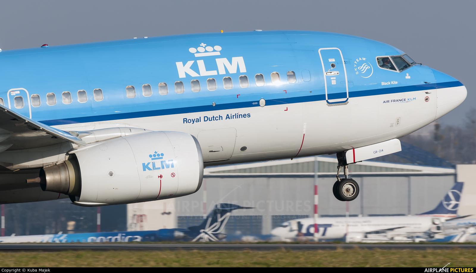 KLM PH-BGR aircraft at Warsaw - Frederic Chopin