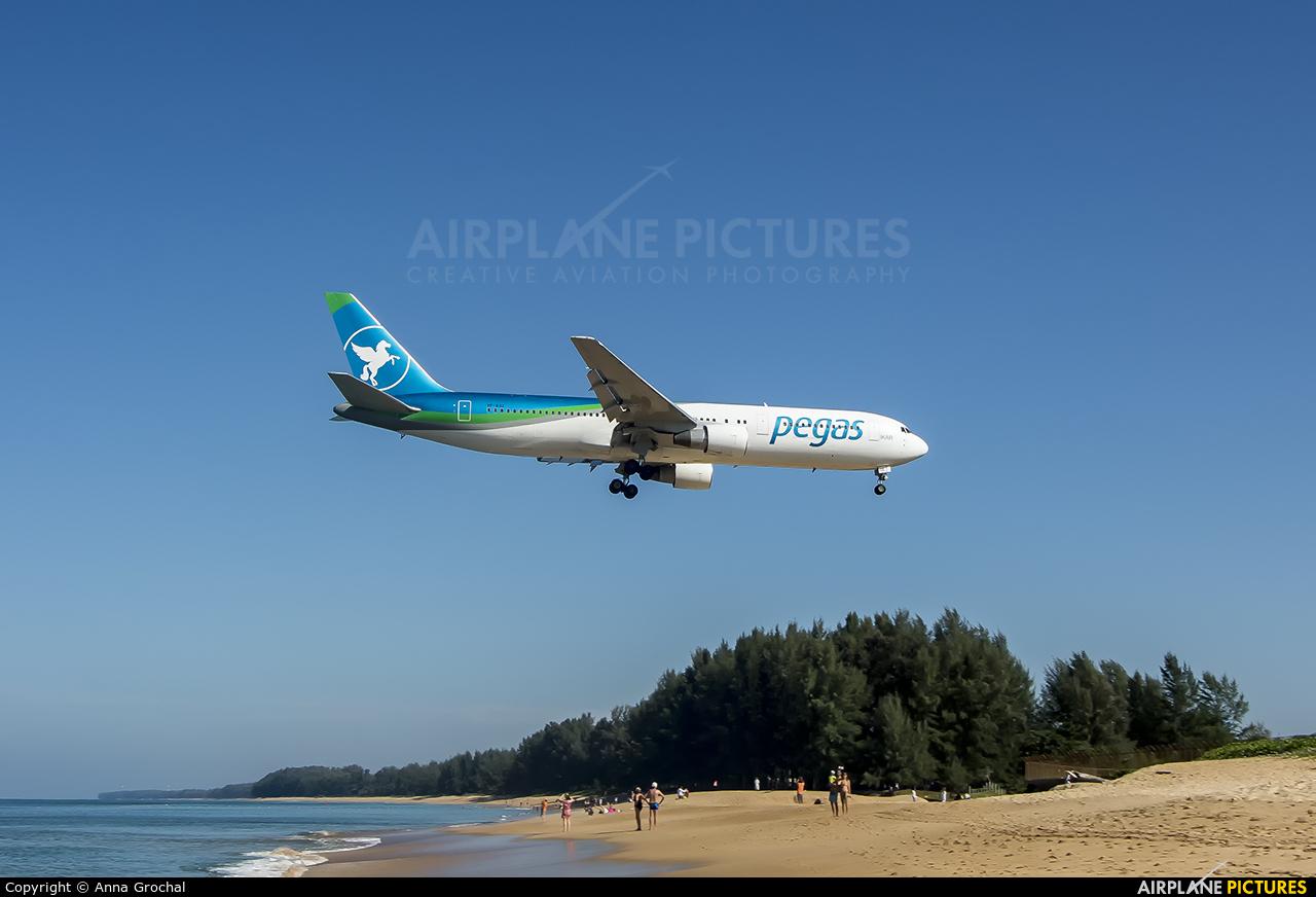 Pegas VP-BOZ aircraft at Phuket