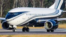 N30ISR - Private Boeing 737-700 BBJ aircraft