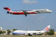 HI990 - PAWA Dominicana McDonnell Douglas MD-83 aircraft