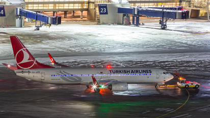 TC-JVD - Turkish Airlines Boeing 737-800