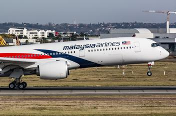 F-WZFG - Malaysia Airlines Airbus A350-900