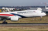 F-WZFG - Malaysia Airlines Airbus A350-900 aircraft