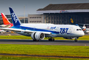 JA814A - ANA - All Nippon Airways Boeing 787-8 Dreamliner aircraft