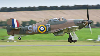 G-HITT - Flying Legends Hawker Hurricane Mk.I (all models)