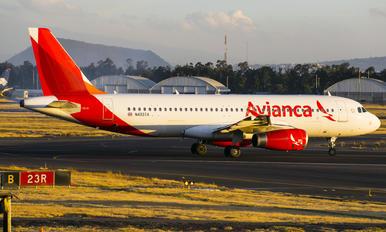 N493TA - Avianca Airbus A320