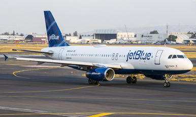 N565JB - JetBlue Airways Airbus A320