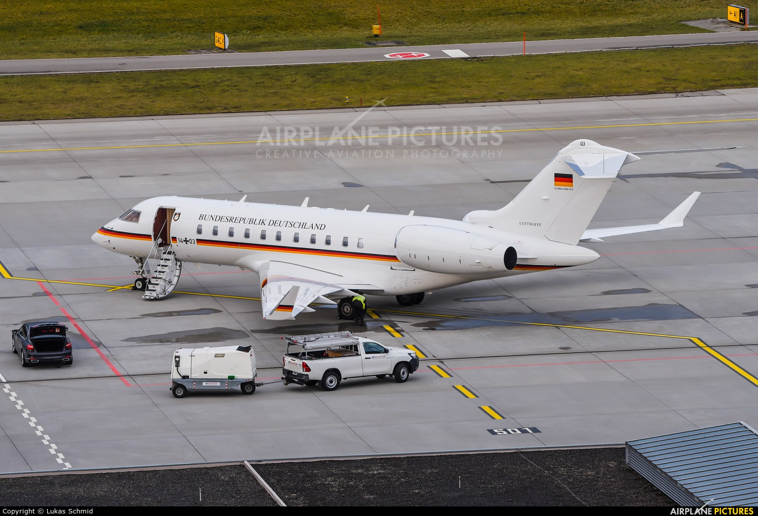 Germany - Air Force 14+03 aircraft at Zurich