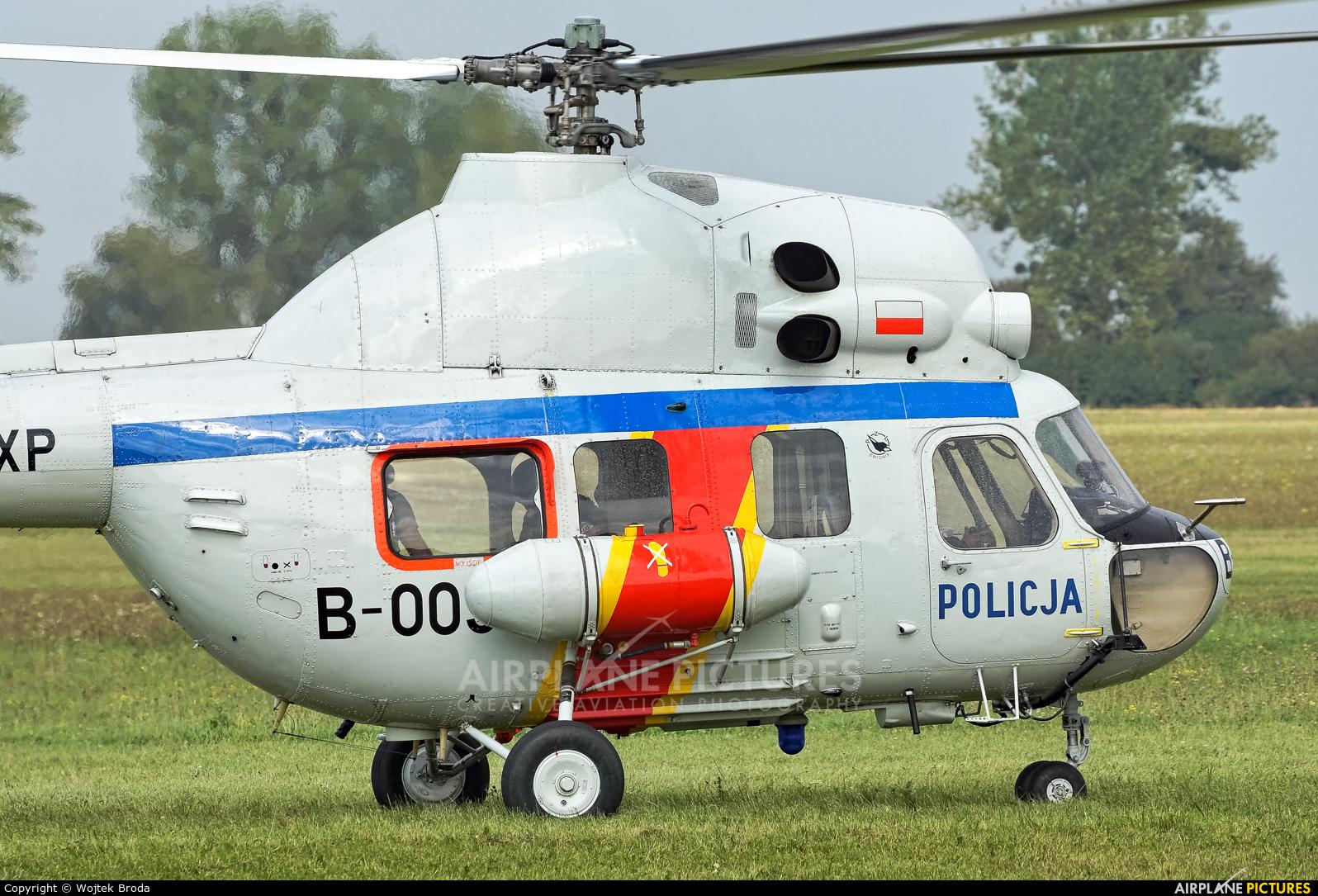 Poland - Police SN-02XP aircraft at Wrocław - Szymanów