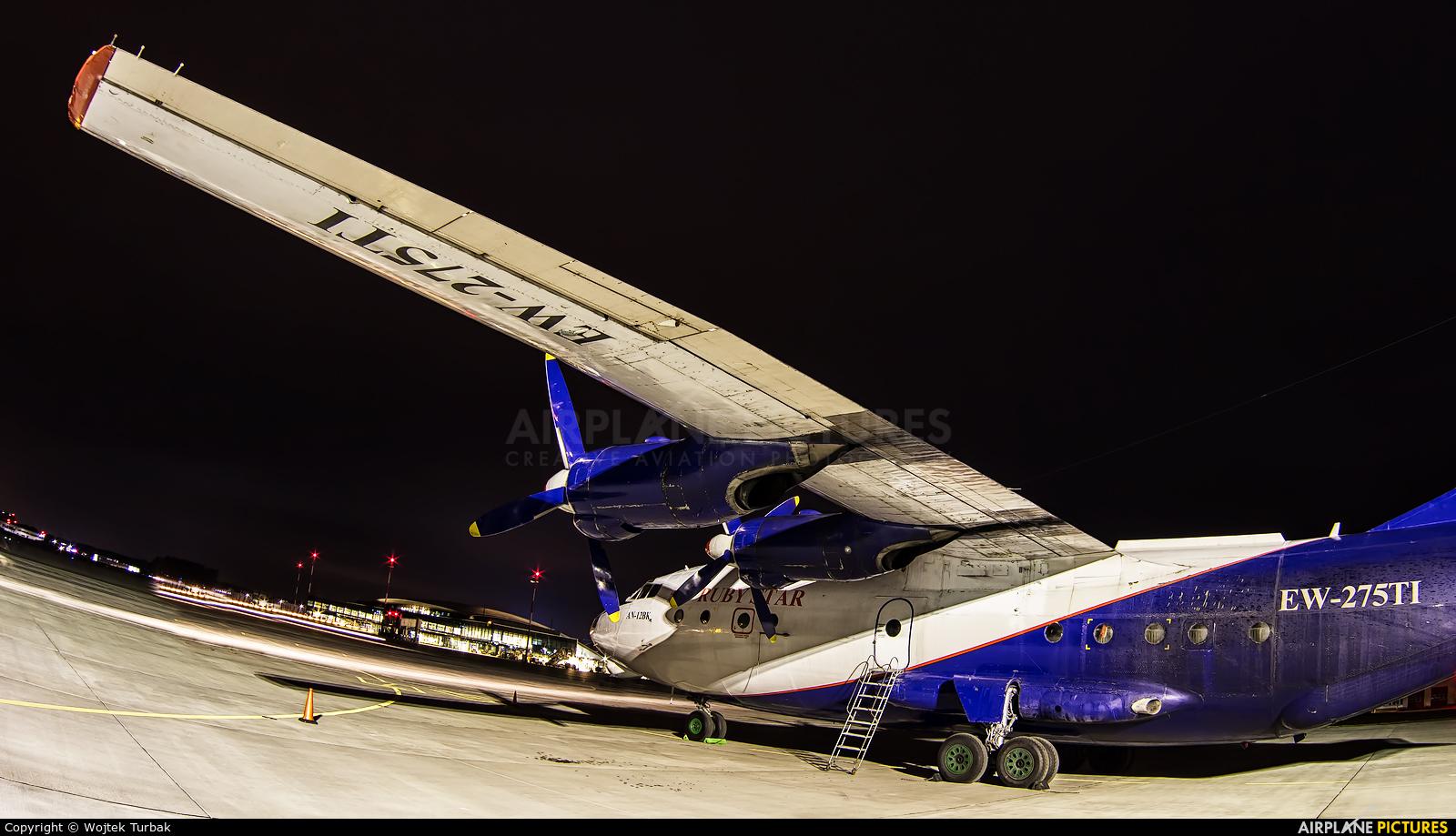 Ruby Star Air Enterprise EW275TI aircraft at Rzeszów-Jasionka