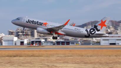 JA14JJ - Jetstar Japan Airbus A320