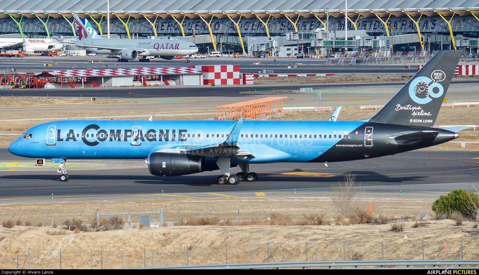 La Compagnie F-HTAG aircraft at Madrid - Barajas