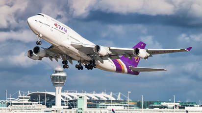 HS-TGA - Thai Airways Boeing 747-400
