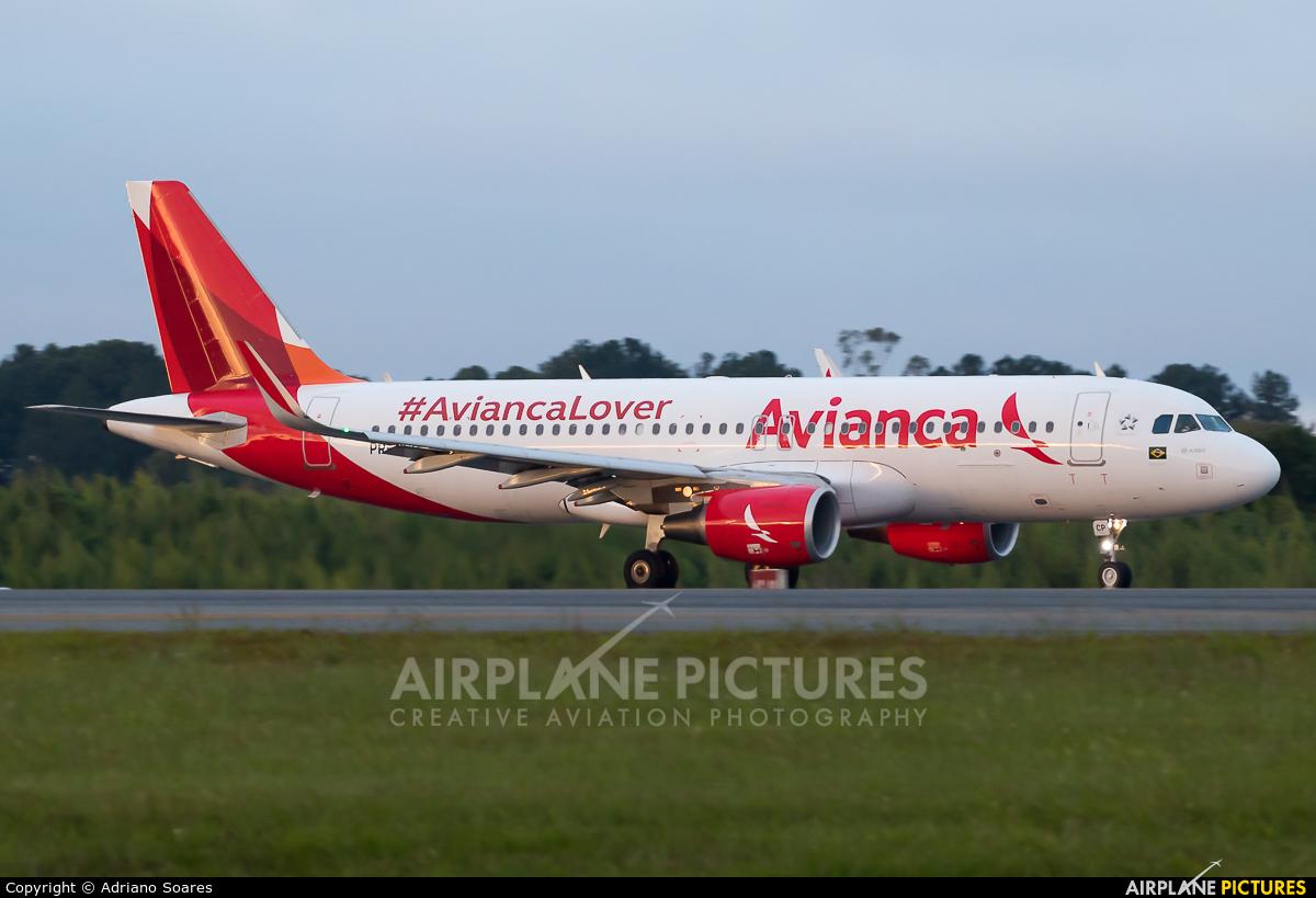 Avianca Brasil PR-OCP aircraft at Curitiba -  Afonso Pena