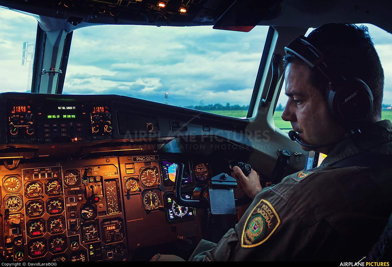 Colombia - Police PNC-0242 aircraft at Bogotá - Eldorado Intl
