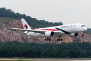 9M-MAB - Malaysia Airlines Airbus A350-900 aircraft
