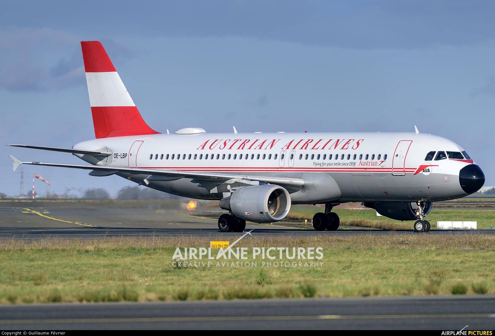 Austrian Airlines/Arrows/Tyrolean OE-LBP aircraft at Paris - Charles de Gaulle