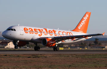 HB-JYB - easyJet Switzerland Airbus A319