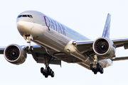 A7-BEG - Qatar Airways Boeing 777-300ER aircraft