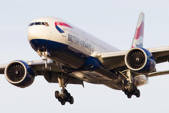 G-VIID - British Airways Boeing 777-200