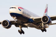 G-VIID - British Airways Boeing 777-200 aircraft