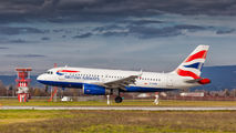 G-EUPN - British Airways Airbus A319 aircraft