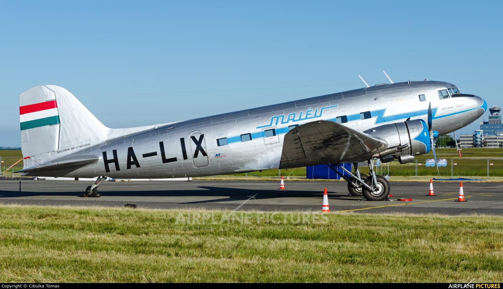 Malev Sunflower Aviation (Gold Ttimer Foundation) HA-LIX aircraft at Prague - Václav Havel