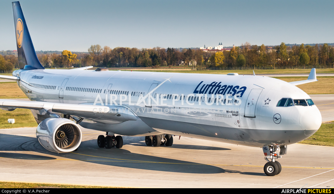 Lufthansa D-AIHD aircraft at Munich