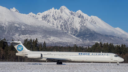 UR-COC - Bravo Airways McDonnell Douglas MD-83