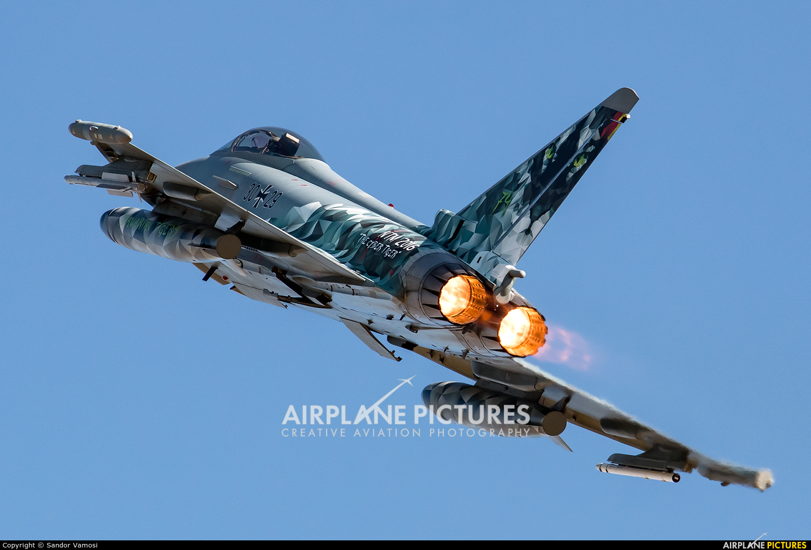 Germany - Air Force 30+29 aircraft at Zaragoza
