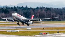 HB-JMH - Swiss Airbus A340-300 aircraft