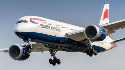 G-ZBJF - British Airways Boeing 787-8 Dreamliner