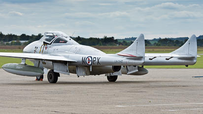 LN-DHZ - Private de Havilland DH.115 Vampire T.55