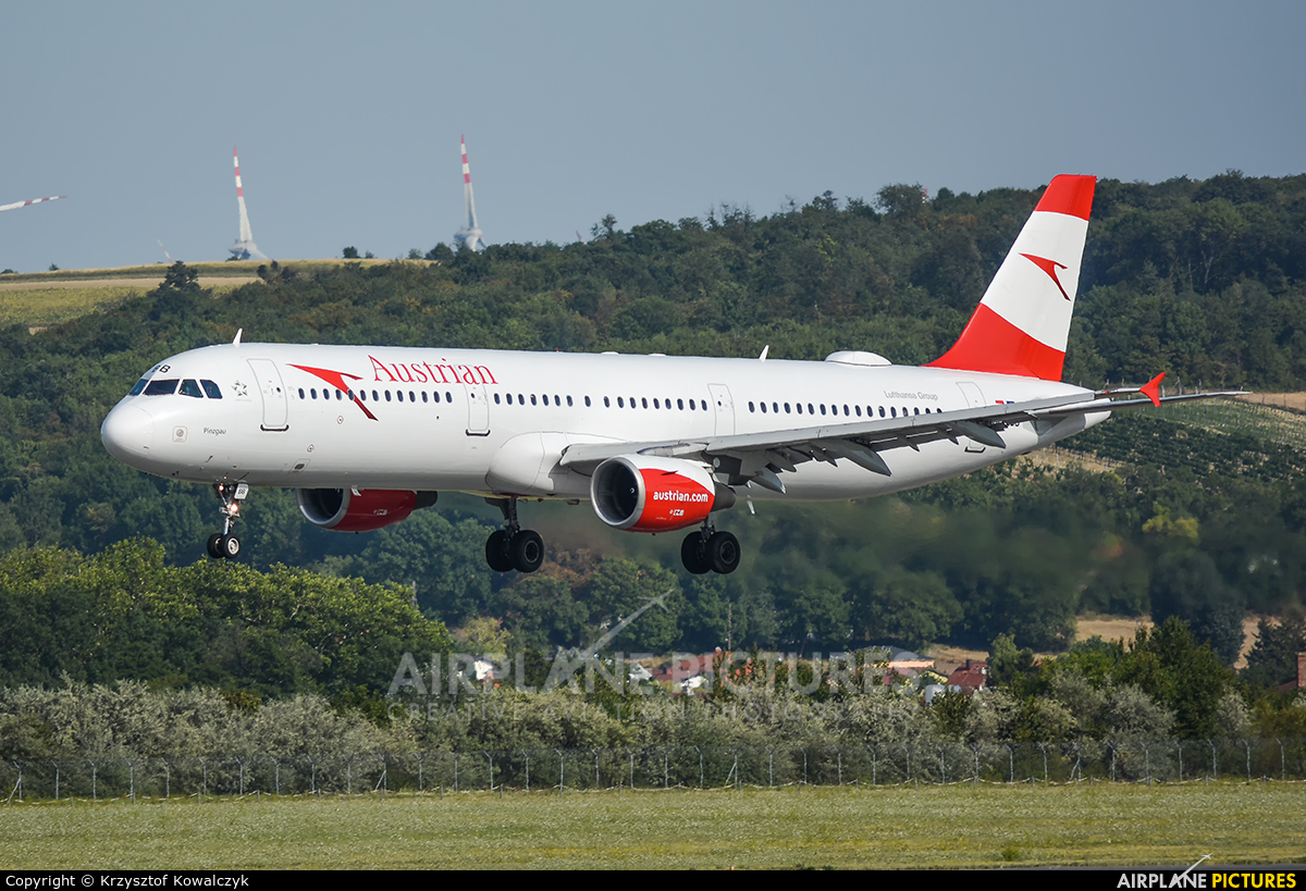 Austrian Airlines/Arrows/Tyrolean OE-LBB aircraft at Vienna - Schwechat