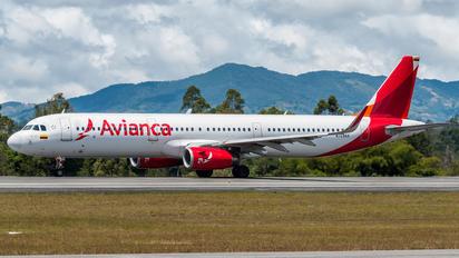 N729AV - Avianca Airbus A321
