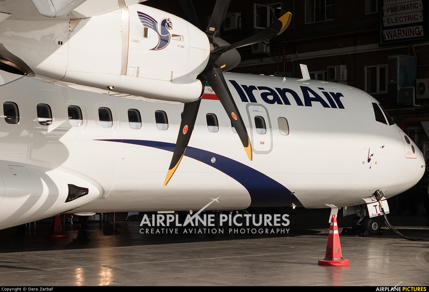 Iran Air EP-ITG aircraft at Tehran - Mehrabad Intl
