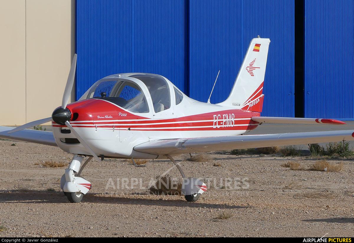 Private EC-FM8 aircraft at Alicante - Muchamiel