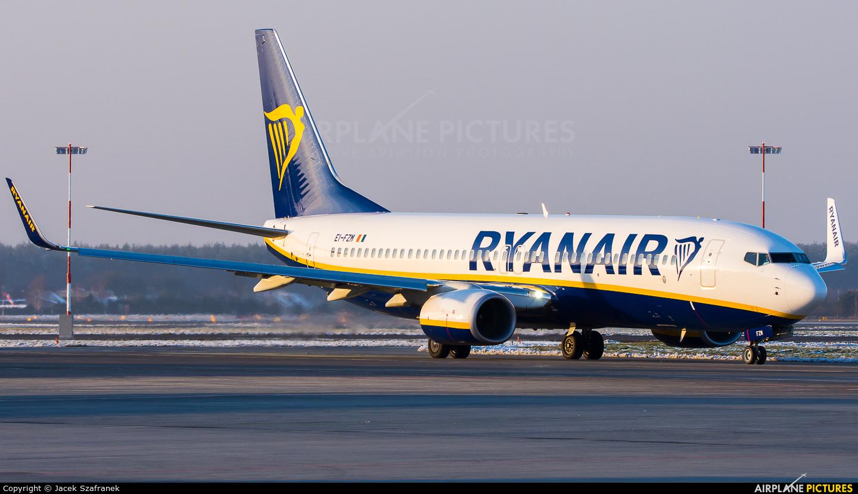 Ryanair EI-FZM aircraft at Katowice - Pyrzowice