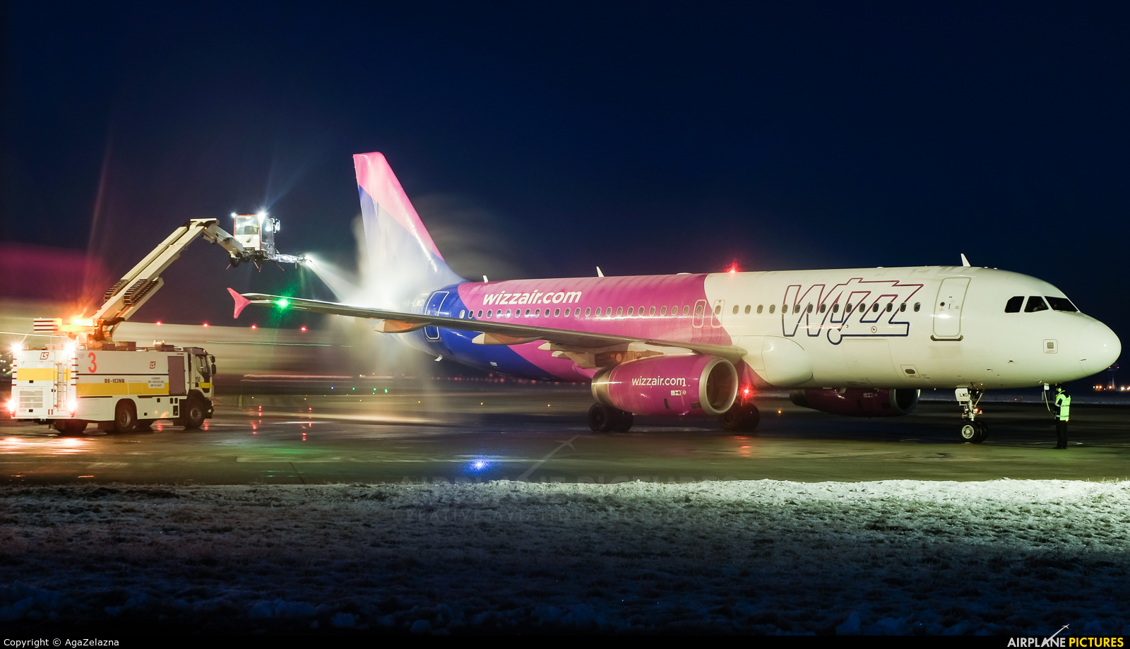 Wizz Air HA-LWD aircraft at Katowice - Pyrzowice