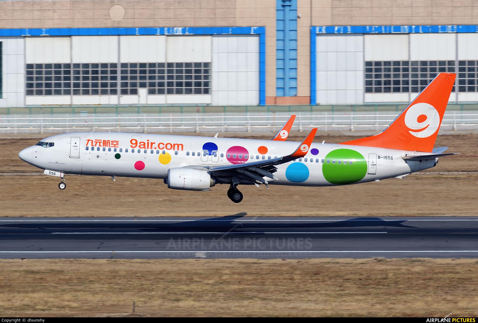 9 Air B-1556 aircraft at Dalian Zhoushuizi Int'l