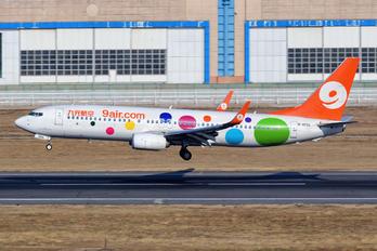 B-1556 - 9 Air Boeing 737-800
