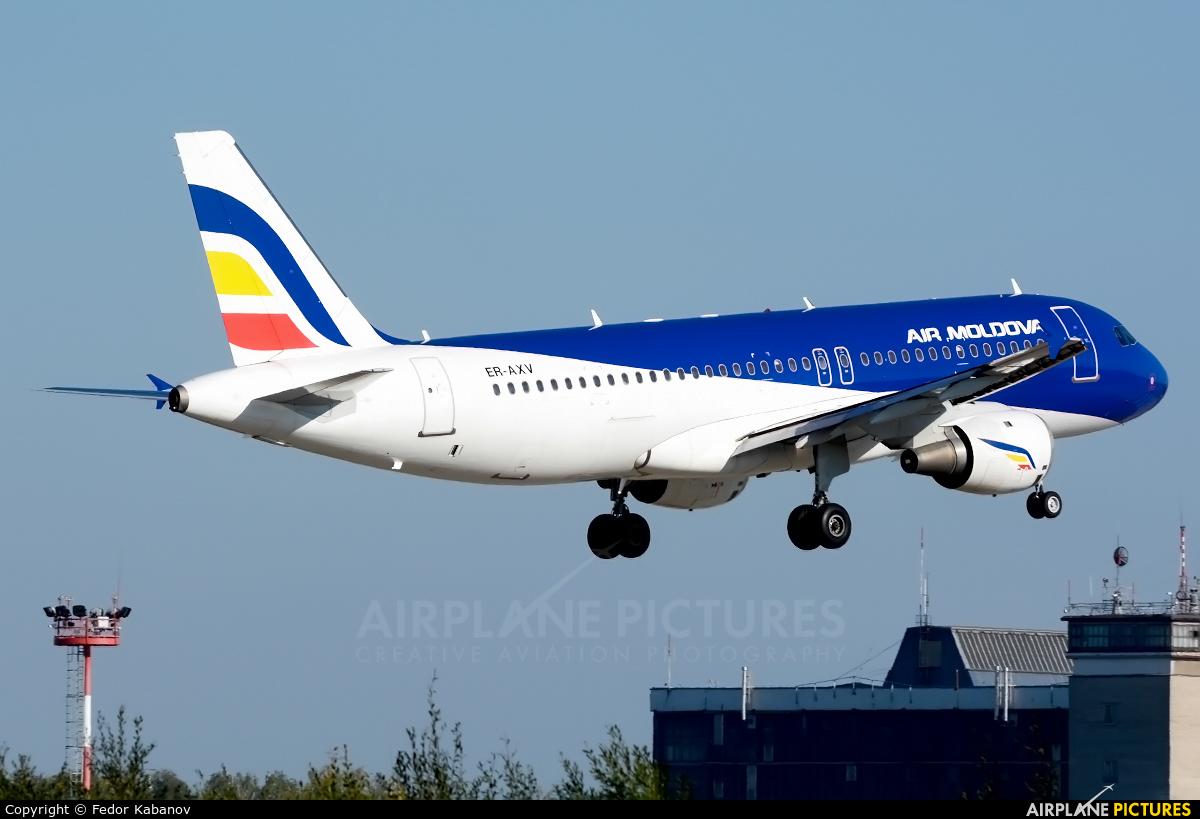 Air Moldova ER-AXV aircraft at Moscow - Domodedovo
