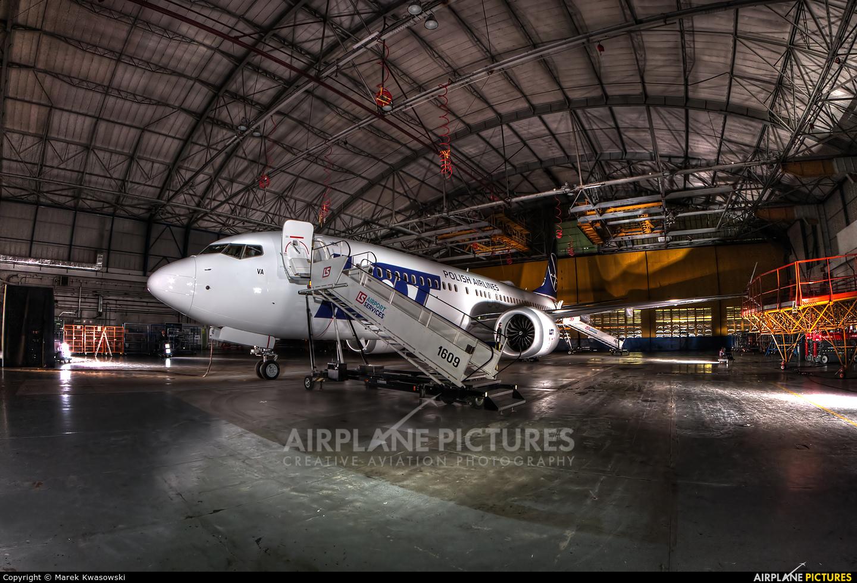 LOT - Polish Airlines SP-LVA aircraft at Warsaw - Frederic Chopin